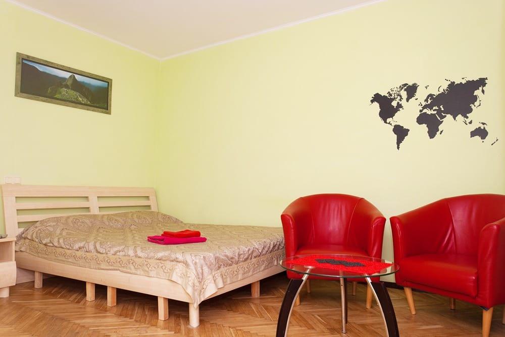 Центр, Крещатик -- 5мин,, Киев, бульвар Леси Украинки, 3 - фото 1